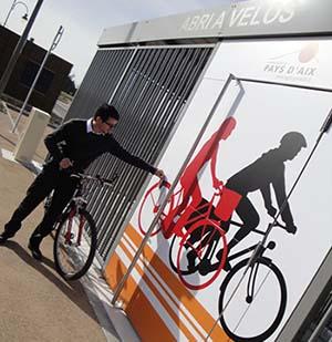 Le 4e Relais vélo du pays d'Aix vient d'ouvrir en gare de Simiane-Collongue
