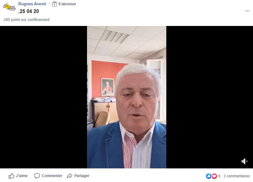 Allocution M. le Maire - COVID-19 - vidéo n°4
