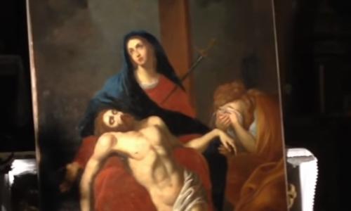 La croix et le tableau